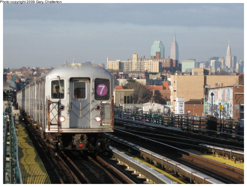 (143k, 820x620)<br><b>Country:</b> United States<br><b>City:</b> New York<br><b>System:</b> New York City Transit<br><b>Line:</b> IRT Flushing Line<br><b>Location:</b> 74th Street/Broadway <br><b>Route:</b> 7<br><b>Car:</b> R-62A (Bombardier, 1984-1987)  2042 <br><b>Photo by:</b> Gary Chatterton<br><b>Date:</b> 12/4/2008<br><b>Viewed (this week/total):</b> 2 / 1295