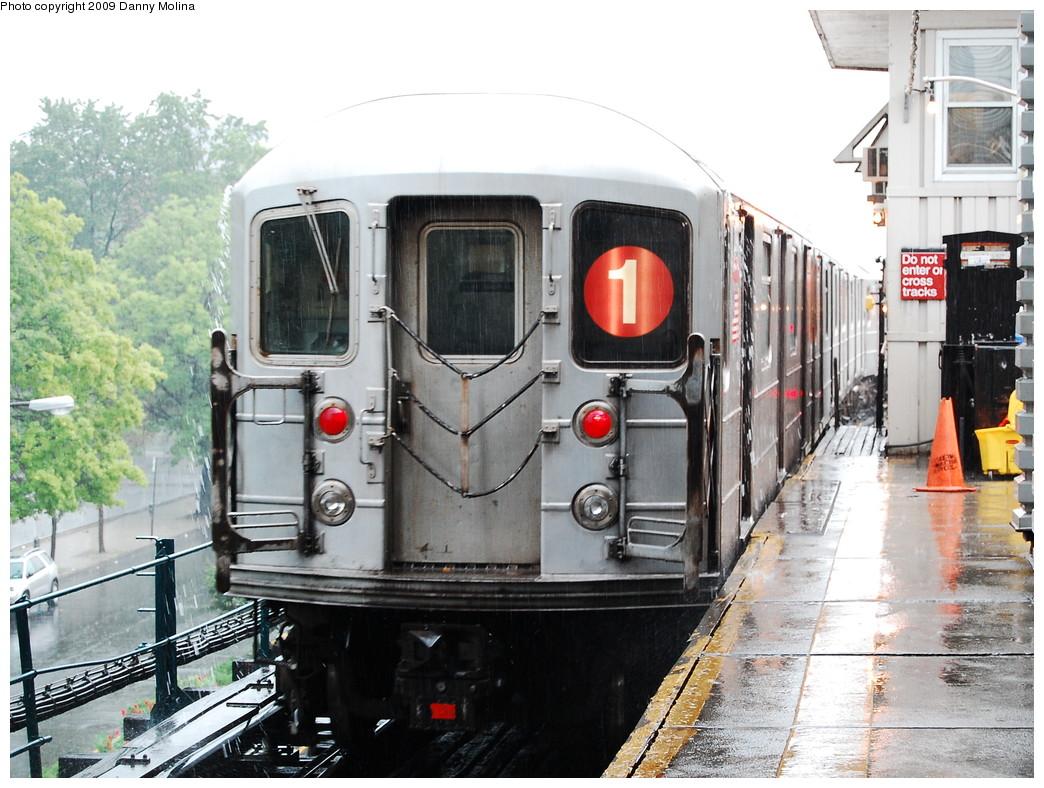 (297k, 1044x788)<br><b>Country:</b> United States<br><b>City:</b> New York<br><b>System:</b> New York City Transit<br><b>Line:</b> IRT West Side Line<br><b>Location:</b> 242nd Street/Van Cortlandt Park <br><b>Route:</b> 1<br><b>Car:</b> R-62A (Bombardier, 1984-1987)   <br><b>Photo by:</b> Danny Molina<br><b>Date:</b> 8/1/2008<br><b>Viewed (this week/total):</b> 0 / 2320