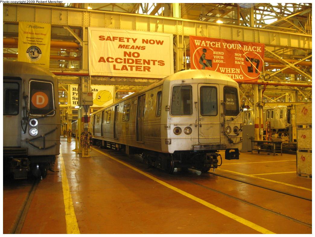 (277k, 1044x788)<br><b>Country:</b> United States<br><b>City:</b> New York<br><b>System:</b> New York City Transit<br><b>Location:</b> Coney Island Shop/Overhaul & Repair Shop<br><b>Car:</b> R-46 (Pullman-Standard, 1974-75) 6170 <br><b>Photo by:</b> Robert Mencher<br><b>Date:</b> 2/11/2009<br><b>Viewed (this week/total):</b> 0 / 1234