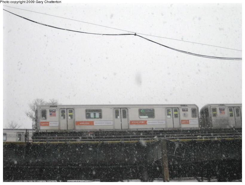(112k, 820x620)<br><b>Country:</b> United States<br><b>City:</b> New York<br><b>System:</b> New York City Transit<br><b>Line:</b> IRT Flushing Line<br><b>Location:</b> Willets Point/Mets (fmr. Shea Stadium) <br><b>Route:</b> 7<br><b>Car:</b> R-62A (Bombardier, 1984-1987)  1730 <br><b>Photo by:</b> Gary Chatterton<br><b>Date:</b> 2/3/2009<br><b>Viewed (this week/total):</b> 4 / 1175