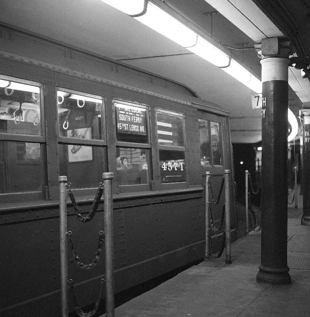 (227k, 820x554)<br><b>Country:</b> United States<br><b>City:</b> New York<br><b>System:</b> New York City Transit<br><b>Location:</b> Fresh Pond Yard<br><b>Car:</b> BMT Elevated Gate Car 1307 <br><b>Photo by:</b> Joel Shanus<br><b>Viewed (this week/total):</b> 0 / 1093