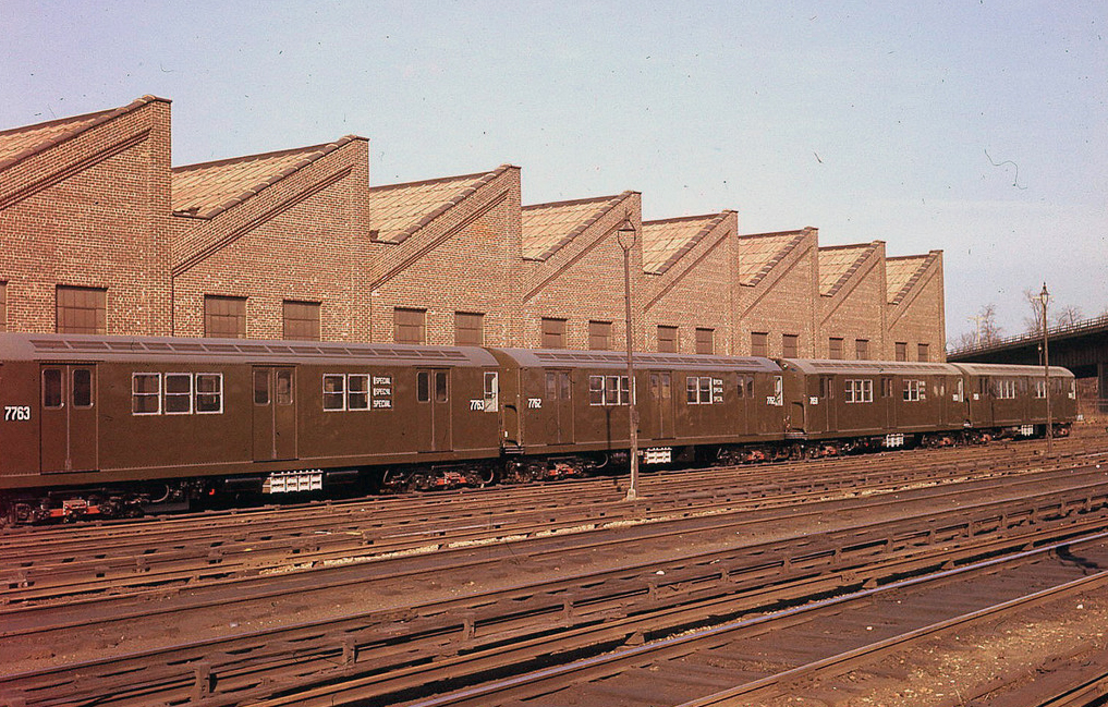 (241k, 820x773)<br><b>Country:</b> United States<br><b>City:</b> New York<br><b>System:</b> New York City Transit<br><b>Line:</b> BMT Brighton Line<br><b>Location:</b> Avenue U <br><b>Route:</b> Work Service<br><b>Car:</b> BMT QX  1643 <br><b>Photo by:</b> Joel Shanus<br><b>Viewed (this week/total):</b> 1 / 1398