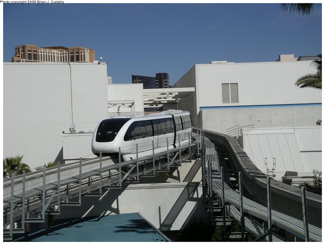 (246k, 1044x788)<br><b>Country:</b> United States<br><b>City:</b> Las Vegas, NV<br><b>System:</b> Las Vegas Monorail<br><b>Location:</b> Bally's/Paris Las Vegas <br><b>Photo by:</b> Brian J. Cudahy<br><b>Date:</b> 2/11/2009<br><b>Viewed (this week/total):</b> 1 / 1236