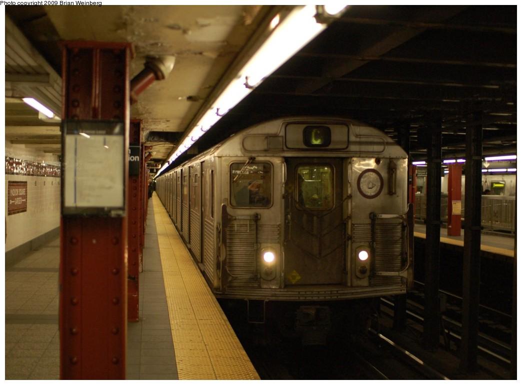 (219k, 1044x771)<br><b>Country:</b> United States<br><b>City:</b> New York<br><b>System:</b> New York City Transit<br><b>Line:</b> IND 8th Avenue Line<br><b>Location:</b> 34th Street/Penn Station <br><b>Route:</b> C<br><b>Car:</b> R-38 (St. Louis, 1966-1967)  4070 <br><b>Photo by:</b> Brian Weinberg<br><b>Date:</b> 2/19/2009<br><b>Viewed (this week/total):</b> 0 / 1696