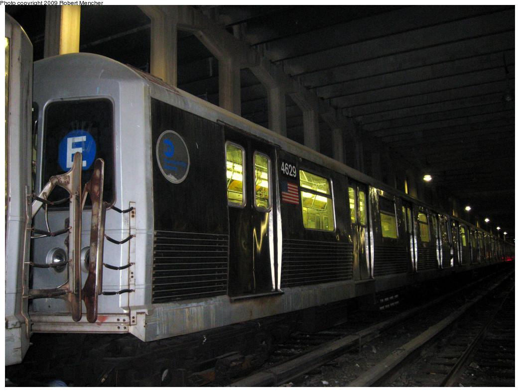 (284k, 1044x788)<br><b>Country:</b> United States<br><b>City:</b> New York<br><b>System:</b> New York City Transit<br><b>Location:</b> Pitkin Yard/Shops<br><b>Car:</b> R-42 (St. Louis, 1969-1970)  4629 <br><b>Photo by:</b> Robert Mencher<br><b>Date:</b> 2/28/2009<br><b>Viewed (this week/total):</b> 1 / 1242