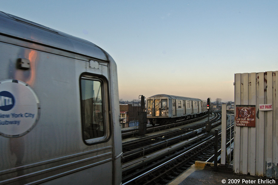 (161k, 930x618)<br><b>Country:</b> United States<br><b>City:</b> New York<br><b>System:</b> New York City Transit<br><b>Line:</b> IND Fulton Street Line<br><b>Location:</b> 80th Street/Hudson Street <br><b>Route:</b> A<br><b>Car:</b> R-40 (St. Louis, 1968)  4296 <br><b>Photo by:</b> Peter Ehrlich<br><b>Date:</b> 2/19/2009<br><b>Notes:</b> Outbound<br><b>Viewed (this week/total):</b> 0 / 1212
