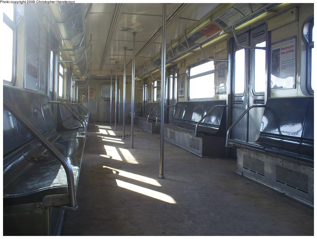 (249k, 1044x788)<br><b>Country:</b> United States<br><b>City:</b> New York<br><b>System:</b> New York City Transit<br><b>Route:</b> A<br><b>Car:</b> R-38 (St. Louis, 1966-1967)  4140 <br><b>Photo by:</b> Christopher Henderson<br><b>Date:</b> 3/4/2009<br><b>Viewed (this week/total):</b> 0 / 1531