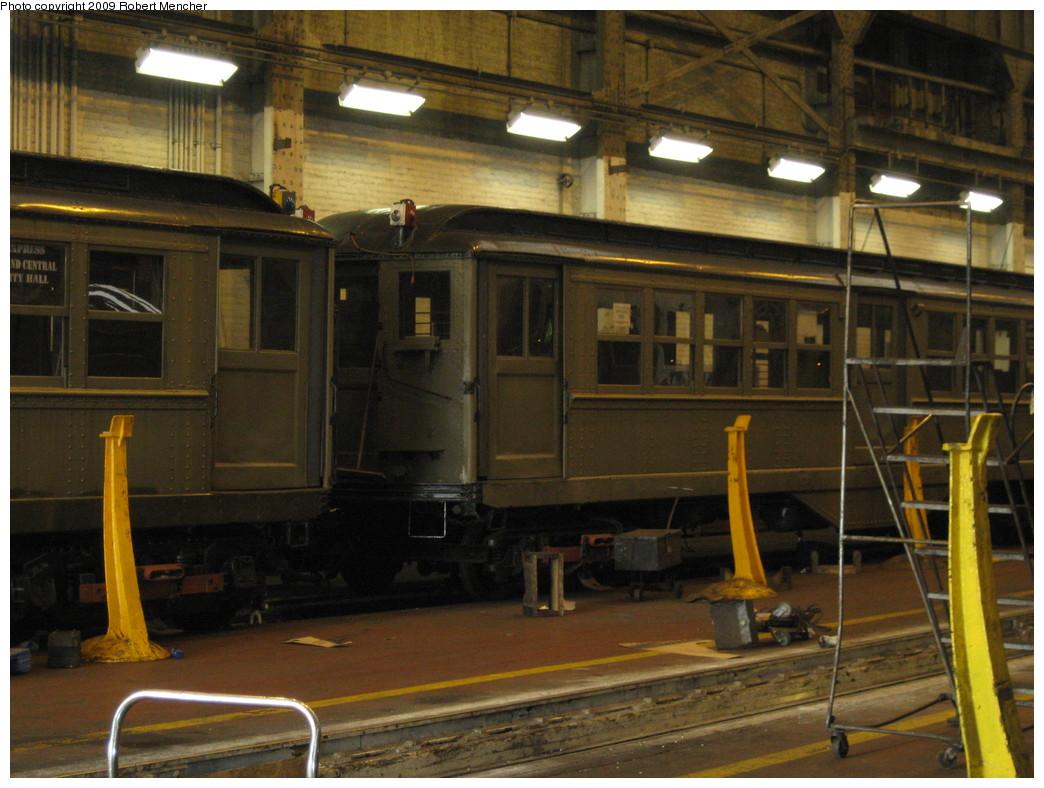 (223k, 1044x788)<br><b>Country:</b> United States<br><b>City:</b> New York<br><b>System:</b> New York City Transit<br><b>Location:</b> 207th Street Shop<br><b>Car:</b> Low-V (Museum Train)  <br><b>Photo by:</b> Robert Mencher<br><b>Date:</b> 3/7/2009<br><b>Viewed (this week/total):</b> 1 / 818