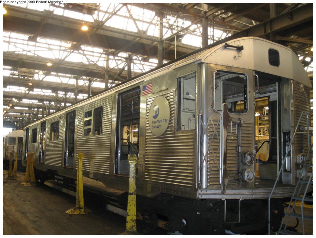 (271k, 1044x788)<br><b>Country:</b> United States<br><b>City:</b> New York<br><b>System:</b> New York City Transit<br><b>Location:</b> 207th Street Shop<br><b>Car:</b> R-32 (Budd, 1964)   <br><b>Photo by:</b> Robert Mencher<br><b>Date:</b> 3/7/2009<br><b>Viewed (this week/total):</b> 2 / 989