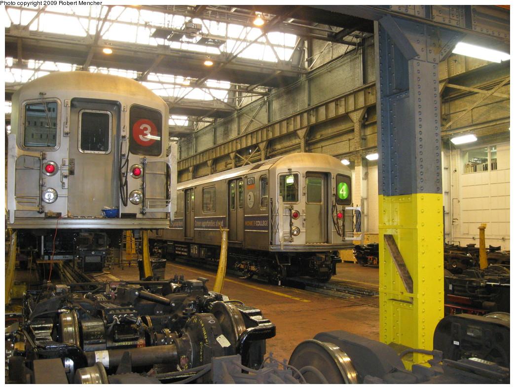 (283k, 1044x788)<br><b>Country:</b> United States<br><b>City:</b> New York<br><b>System:</b> New York City Transit<br><b>Location:</b> 207th Street Shop<br><b>Car:</b> R-62 (Kawasaki, 1983-1985)  1371 <br><b>Photo by:</b> Robert Mencher<br><b>Date:</b> 3/7/2009<br><b>Viewed (this week/total):</b> 4 / 1161