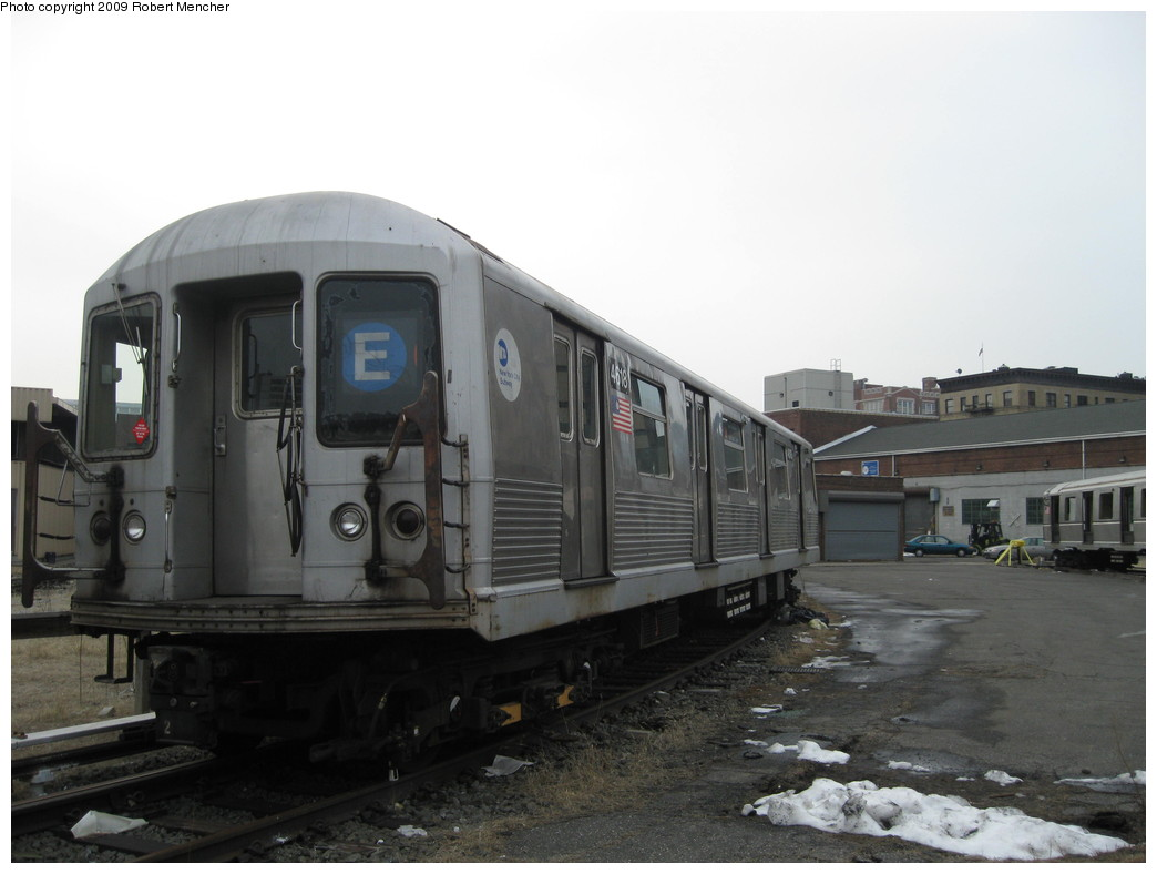 (154k, 1044x788)<br><b>Country:</b> United States<br><b>City:</b> New York<br><b>System:</b> New York City Transit<br><b>Location:</b> 207th Street Yard<br><b>Car:</b> R-42 (St. Louis, 1969-1970)  4618 <br><b>Photo by:</b> Robert Mencher<br><b>Date:</b> 3/7/2009<br><b>Viewed (this week/total):</b> 1 / 955