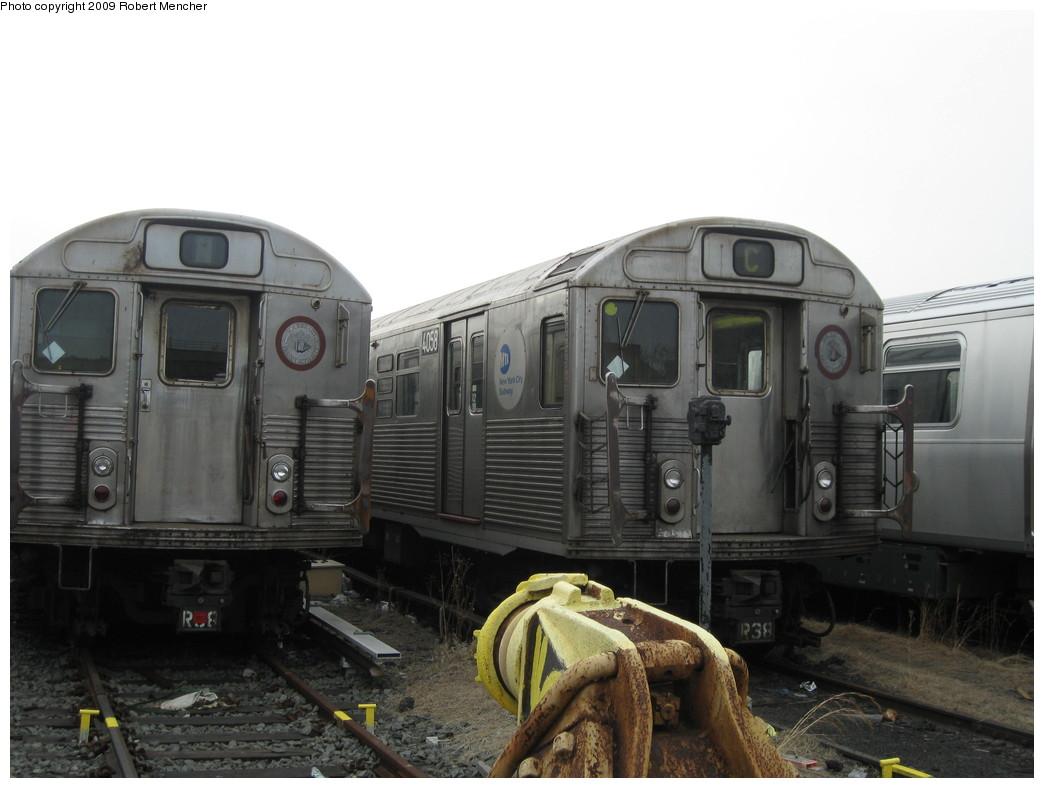 (169k, 1044x788)<br><b>Country:</b> United States<br><b>City:</b> New York<br><b>System:</b> New York City Transit<br><b>Location:</b> 207th Street Yard<br><b>Car:</b> R-38 (St. Louis, 1966-1967)  4058 <br><b>Photo by:</b> Robert Mencher<br><b>Date:</b> 3/7/2009<br><b>Viewed (this week/total):</b> 0 / 857