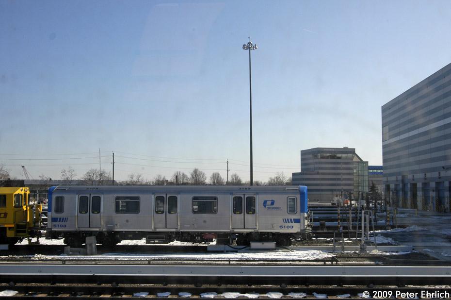 (154k, 930x618)<br><b>Country:</b> United States<br><b>City:</b> Harrison, NJ<br><b>System:</b> PATH<br><b>Location:</b> Harrison Yard/Shop <br><b>Car:</b> PATH PA-5 (Kawasaki, 2009-2011) 5103 <br><b>Photo by:</b> Peter Ehrlich<br><b>Date:</b> 3/4/2009<br><b>Viewed (this week/total):</b> 1 / 1477