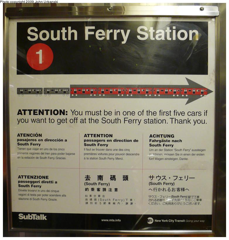 (245k, 782x820)<br><b>Country:</b> United States<br><b>City:</b> New York<br><b>System:</b> New York City Transit<br><b>Route:</b> 1<br><b>Car:</b> R-62A (Bombardier, 1984-1987)  Interior <br><b>Photo by:</b> John Urbanski<br><b>Date:</b> 3/16/2009<br><b>Notes:</b> Newly outdated poster.<br><b>Viewed (this week/total):</b> 1 / 1295