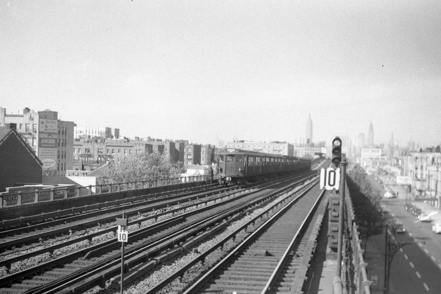 (248k, 1024x706)<br><b>Country:</b> United States<br><b>City:</b> New York<br><b>System:</b> New York City Transit<br><b>Line:</b> BMT West End Line<br><b>Location:</b> 9th Avenue <br><b>Car:</b> BMT Q  <br><b>Photo by:</b> Joel Shanus<br><b>Viewed (this week/total):</b> 0 / 1911