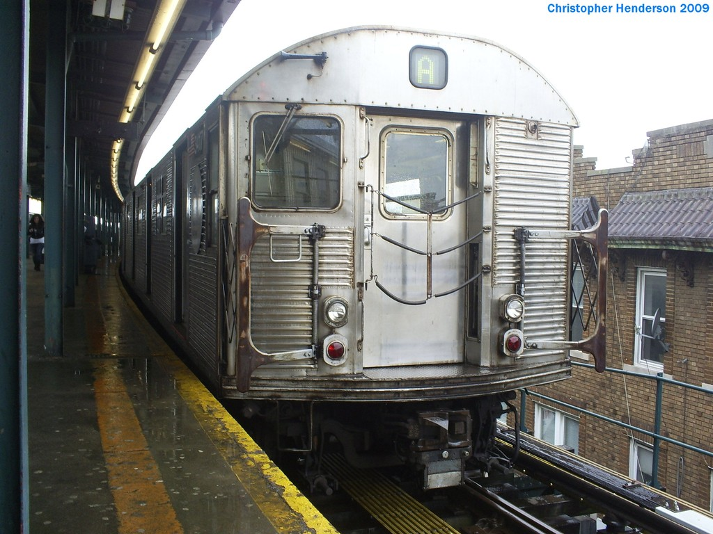 (213k, 1024x768)<br><b>Country:</b> United States<br><b>City:</b> New York<br><b>System:</b> New York City Transit<br><b>Line:</b> IND Fulton Street Line<br><b>Location:</b> Lefferts Boulevard <br><b>Route:</b> A<br><b>Car:</b> R-32 (Budd, 1964)  3417 <br><b>Photo by:</b> Christopher Henderson<br><b>Date:</b> 3/19/2009<br><b>Viewed (this week/total):</b> 3 / 1024