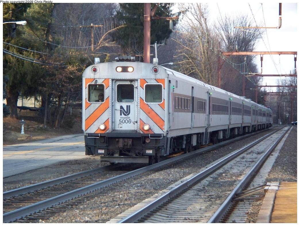 (267k, 1044x788)<br><b>Country:</b> United States<br><b>System:</b> NJ Transit (or Predecessor)<br><b>Line:</b> NJT Morris & Essex Line<br><b>Location:</b> Mt. Tabor<br><b>Car:</b> NJT Comet III 5006 <br><b>Photo by:</b> Chris Reidy<br><b>Date:</b> 2/23/2009<br><b>Viewed (this week/total):</b> 4 / 1184