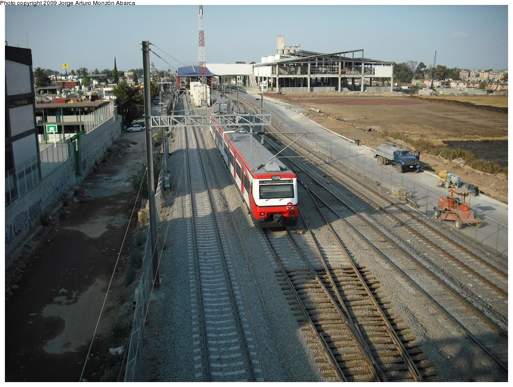 (262k, 1044x788)<br><b>Country:</b> Mexico<br><b>City:</b> Mexico City<br><b>System:</b> Ferrocarril Suburbano de la Zona Metropolitana de México (Suburban Railway)<br><b>Location:</b> Cuautitlan <br><b>Photo by:</b> Jorge Arturo Monzón Abarca<br><b>Date:</b> 1/11/2009<br><b>Viewed (this week/total):</b> 0 / 441