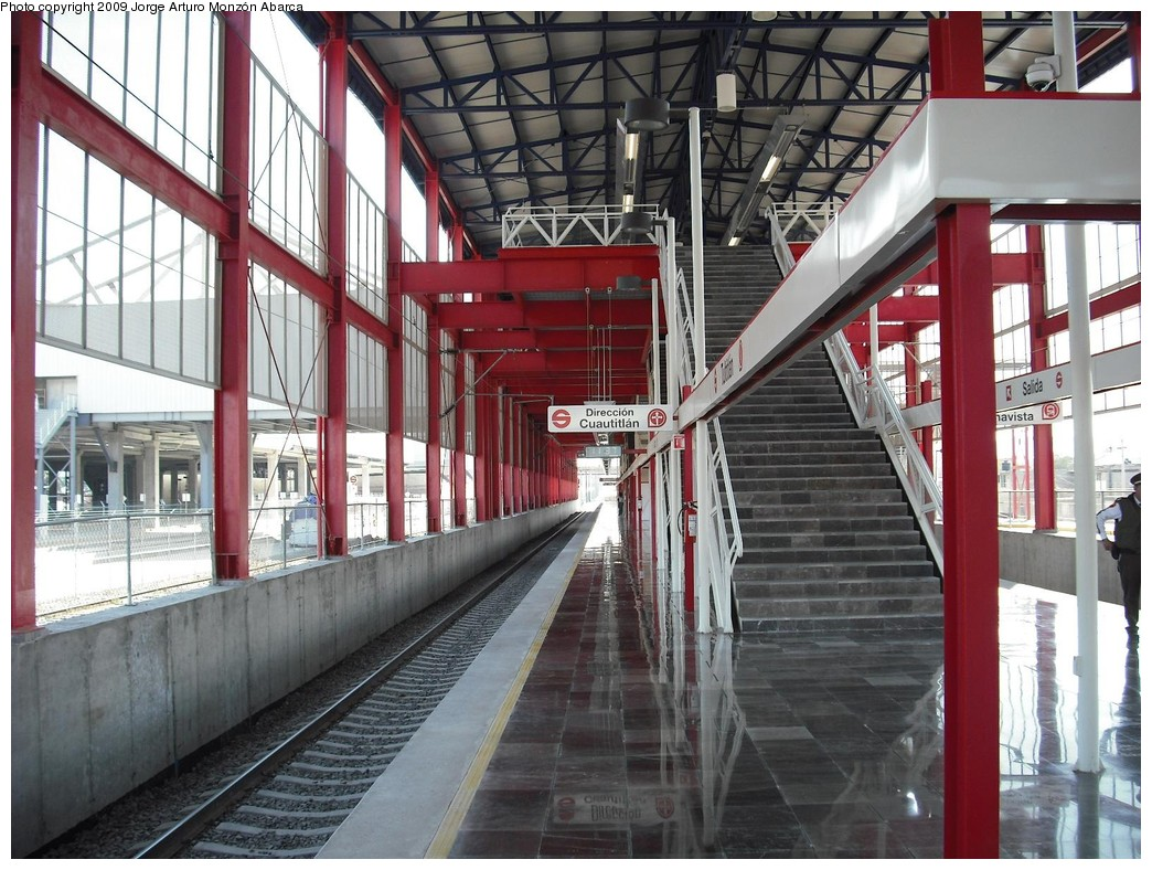 (244k, 1044x788)<br><b>Country:</b> Mexico<br><b>City:</b> Mexico City<br><b>System:</b> Ferrocarril Suburbano de la Zona Metropolitana de México (Suburban Railway)<br><b>Location:</b> Tultitlan <br><b>Photo by:</b> Jorge Arturo Monzón Abarca<br><b>Date:</b> 1/11/2009<br><b>Viewed (this week/total):</b> 0 / 334