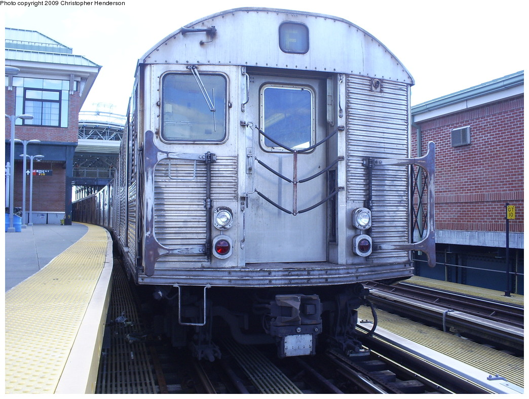 (300k, 1044x788)<br><b>Country:</b> United States<br><b>City:</b> New York<br><b>System:</b> New York City Transit<br><b>Location:</b> Coney Island/Stillwell Avenue<br><b>Route:</b> F<br><b>Car:</b> R-32 (Budd, 1964)  3607 <br><b>Photo by:</b> Christopher Henderson<br><b>Date:</b> 3/30/2009<br><b>Viewed (this week/total):</b> 0 / 1533