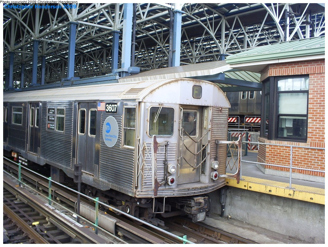 (298k, 1044x788)<br><b>Country:</b> United States<br><b>City:</b> New York<br><b>System:</b> New York City Transit<br><b>Location:</b> Coney Island/Stillwell Avenue<br><b>Route:</b> F<br><b>Car:</b> R-32 (Budd, 1964)  3445 <br><b>Photo by:</b> Christopher Henderson<br><b>Date:</b> 3/30/2009<br><b>Viewed (this week/total):</b> 0 / 1415
