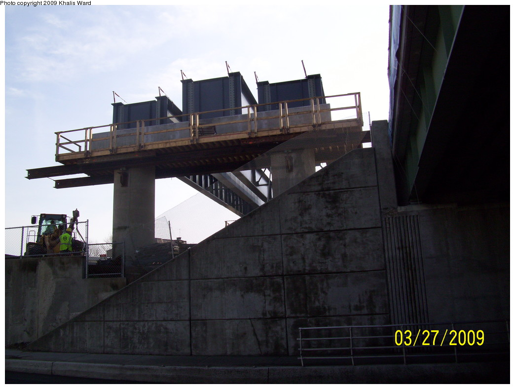 (182k, 1044x788)<br><b>Country:</b> United States<br><b>City:</b> Jersey City, NJ<br><b>System:</b> Hudson Bergen Light Rail<br><b>Location:</b> Bayonne 8th Street <br><b>Photo by:</b> Khalis Ward<br><b>Date:</b> 3/27/2009<br><b>Notes:</b> 8th Street extension construction.<br><b>Viewed (this week/total):</b> 0 / 682