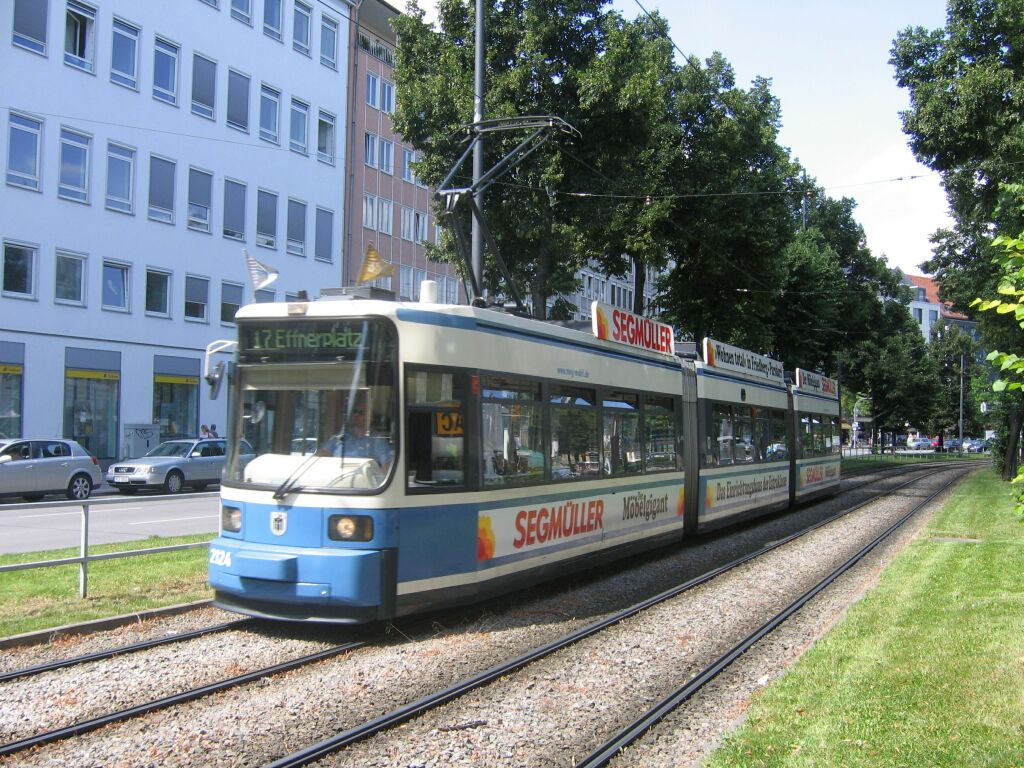 (203k, 1024x768)<br><b>Country:</b> Germany<br><b>City:</b> Munich<br><b>System:</b> MVG (Munchener Verkehrsgesellschaft)<br><b>Location:</b> Sonnenstrasse <br><b>Route:</b> 17<br><b>Car:</b> Siemens GT6N R2.2  2124  <br><b>Photo by:</b> Jos Straathof<br><b>Date:</b> 8/14/2008<br><b>Viewed (this week/total):</b> 1 / 486