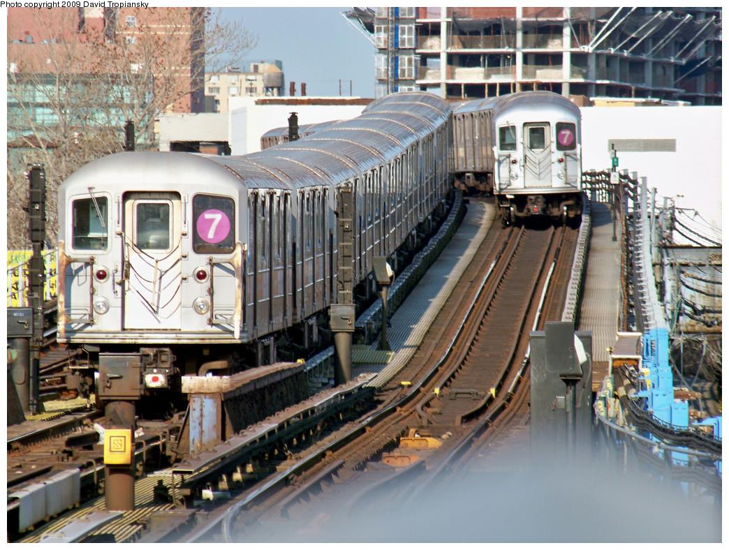 (381k, 1044x788)<br><b>Country:</b> United States<br><b>City:</b> New York<br><b>System:</b> New York City Transit<br><b>Line:</b> IRT Flushing Line<br><b>Location:</b> Willets Point/Mets (fmr. Shea Stadium) <br><b>Route:</b> 7<br><b>Car:</b> R-62A (Bombardier, 1984-1987)  2010/1675 <br><b>Photo by:</b> David Tropiansky<br><b>Date:</b> 4/9/2009<br><b>Viewed (this week/total):</b> 0 / 1563