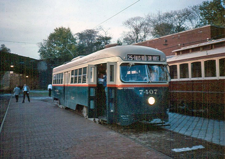 (126k, 731x519)<br><b>Country:</b> United States<br><b>City:</b> Baltimore, MD<br><b>System:</b> Baltimore Streetcar Museum <br><b>Car:</b>  7407 <br><b>Photo by:</b> Brian J. Cudahy<br><b>Viewed (this week/total):</b> 0 / 659