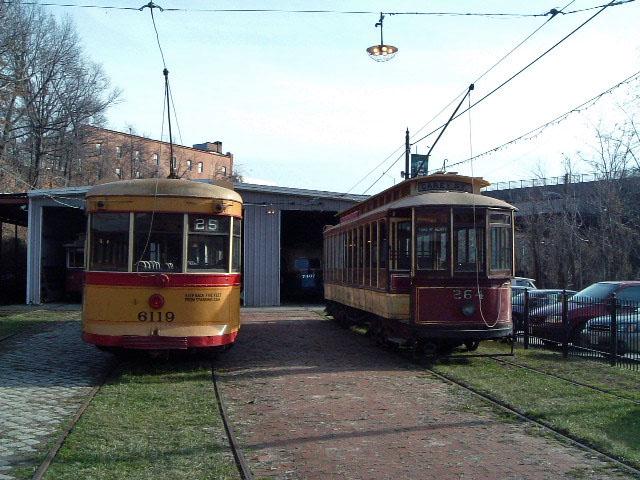 (119k, 640x480)<br><b>Country:</b> United States<br><b>City:</b> Baltimore, MD<br><b>System:</b> Baltimore Streetcar Museum <br><b>Car:</b>  6119/264 <br><b>Photo by:</b> Brian J. Cudahy<br><b>Date:</b> 1/15/2004<br><b>Viewed (this week/total):</b> 1 / 584
