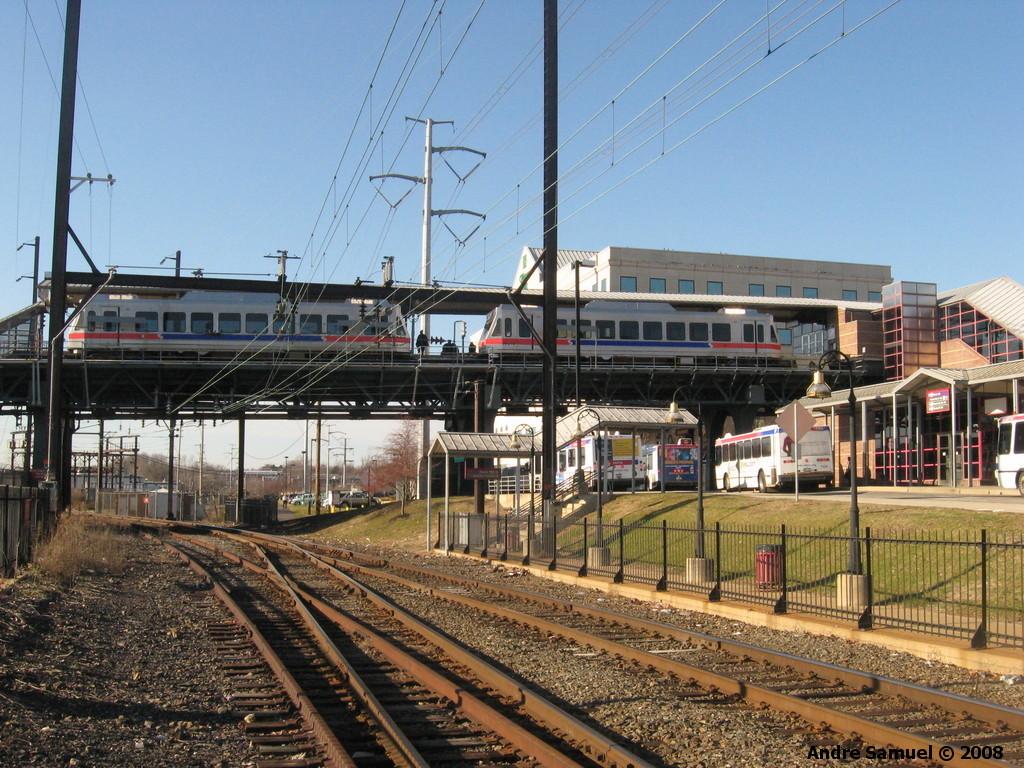 (299k, 1024x768)<br><b>Country:</b> United States<br><b>City:</b> Philadelphia, PA<br><b>System:</b> SEPTA (or Predecessor)<br><b>Line:</b> 100-Norristown<br><b>Location:</b> Norristown <br><b>Car:</b> SEPTA N-5 LRV (Asea-Brown-Boveri, 1993)  <br><b>Photo by:</b> Andre Samuel<br><b>Date:</b> 12/29/2008<br><b>Viewed (this week/total):</b> 0 / 857