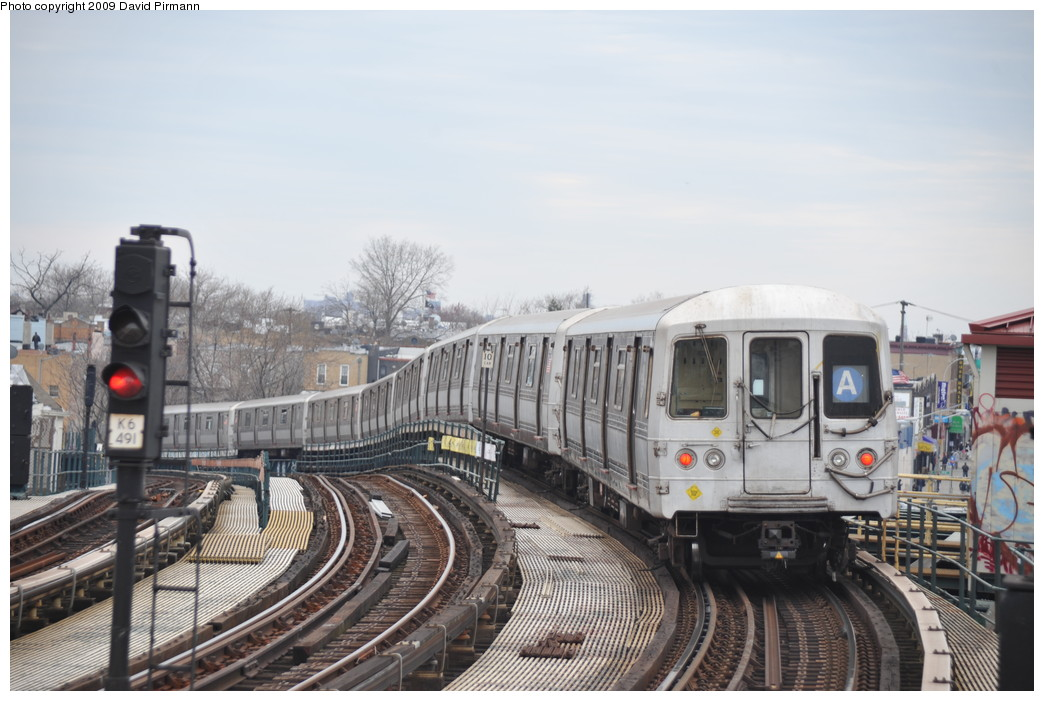 (242k, 1044x701)<br><b>Country:</b> United States<br><b>City:</b> New York<br><b>System:</b> New York City Transit<br><b>Line:</b> IND Fulton Street Line<br><b>Location:</b> 80th Street/Hudson Street <br><b>Route:</b> A<br><b>Car:</b> R-44 (St. Louis, 1971-73) 5396 <br><b>Photo by:</b> David Pirmann<br><b>Date:</b> 4/10/2009<br><b>Viewed (this week/total):</b> 0 / 946