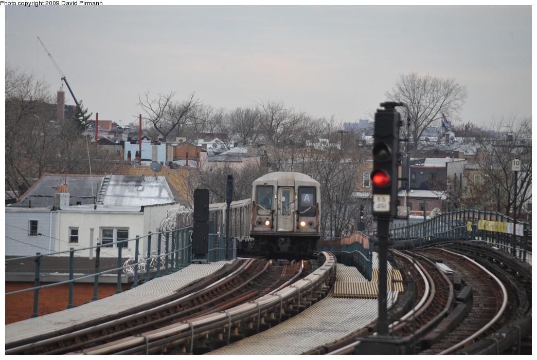 (247k, 1044x701)<br><b>Country:</b> United States<br><b>City:</b> New York<br><b>System:</b> New York City Transit<br><b>Line:</b> IND Fulton Street Line<br><b>Location:</b> 80th Street/Hudson Street <br><b>Route:</b> A<br><b>Car:</b> R-40 (St. Louis, 1968)  4155 <br><b>Photo by:</b> David Pirmann<br><b>Date:</b> 4/10/2009<br><b>Viewed (this week/total):</b> 1 / 1433