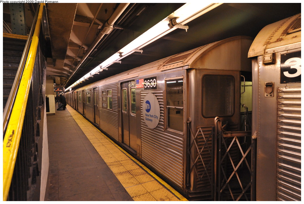 (282k, 1044x701)<br><b>Country:</b> United States<br><b>City:</b> New York<br><b>System:</b> New York City Transit<br><b>Line:</b> IND 8th Avenue Line<br><b>Location:</b> 168th Street <br><b>Route:</b> C<br><b>Car:</b> R-32 (Budd, 1964)  3630 <br><b>Photo by:</b> David Pirmann<br><b>Date:</b> 4/10/2009<br><b>Viewed (this week/total):</b> 0 / 989