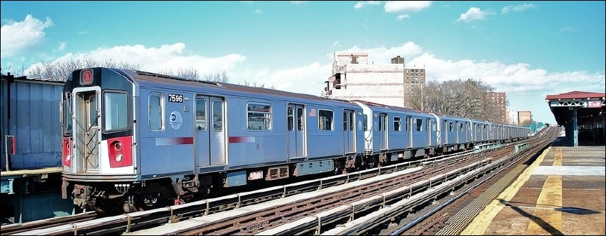 www nycsubway org: New Technology Trains - A Division