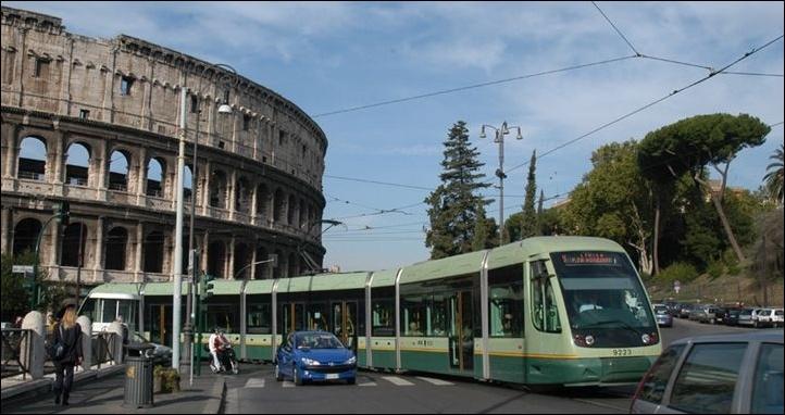 Resultado de imagen de tram rome