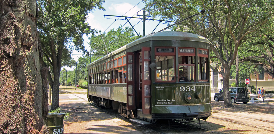 Streetcar In New Orleans Map.World Nycsubway Org New Orleans Louisiana
