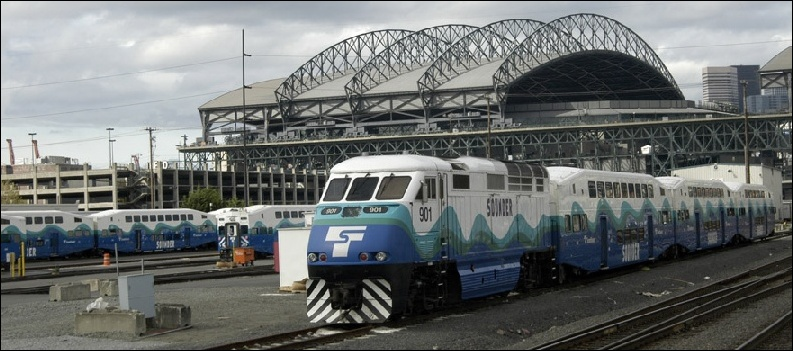 Worldnycsubwayorg Seattle Sounder Commuter Rail - Us map of commuter railroads