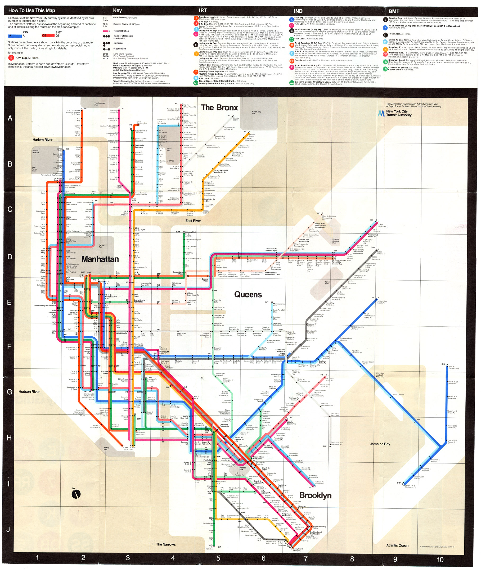 1980 Nyc Subway Map.Www Nycsubway Org