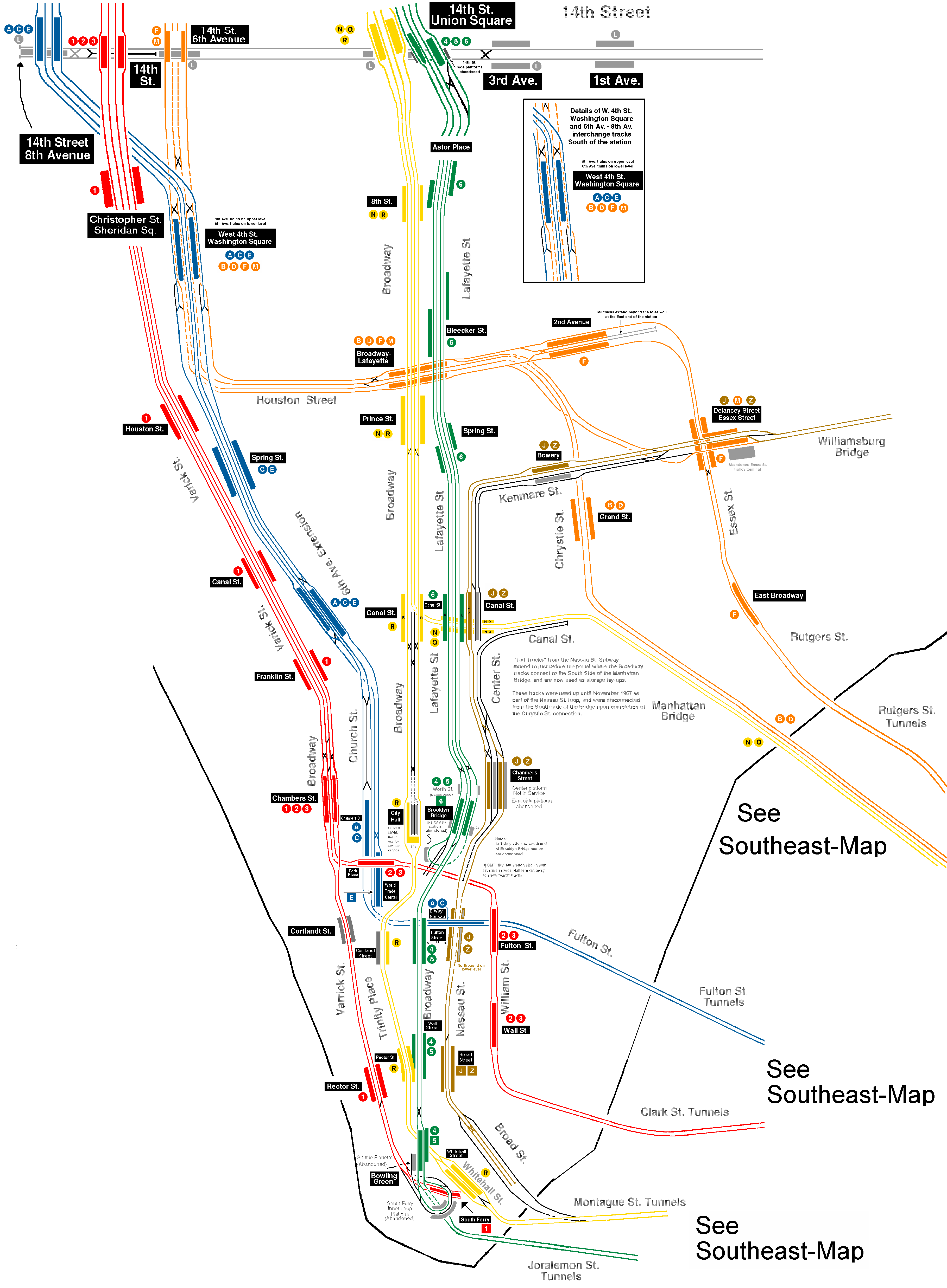 Nyc Subway Track Map