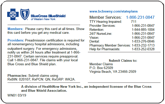 NYS Medicaid Managed Care Pharmacy Benefit Information