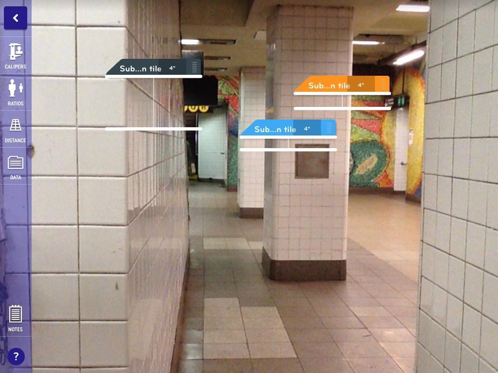 Sizewise subway caliper