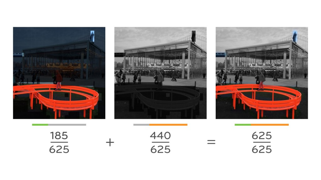 Mashing a color and black & white photo together can produce starkly beautiful results.
