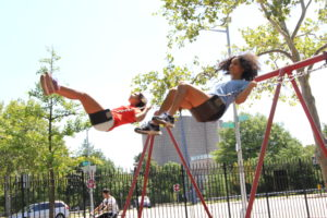 _Katherine and Nikki Swinging