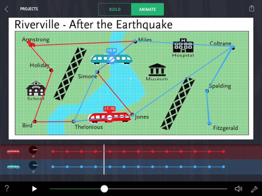 EARTHQUAKE MAP image