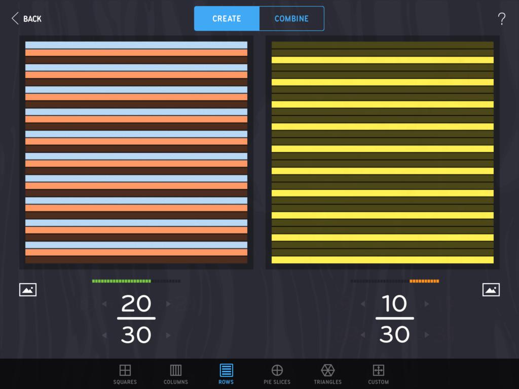 30 stripes in Fraction Mash
