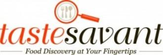 Tastesavant logo tagline 1