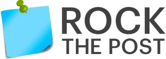 Rock the post logo