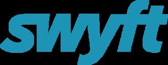 Swyft logo blue