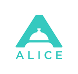 Alice logo blue